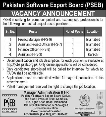 PSEB Jobs 2020