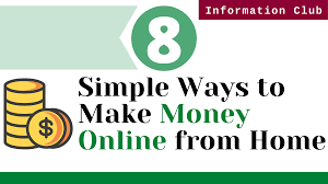8 Great Ways to Make Money From Home